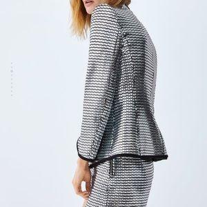 Zara Jackets & Coats - GORGEOUS ZARA NWT Shiny Blazer